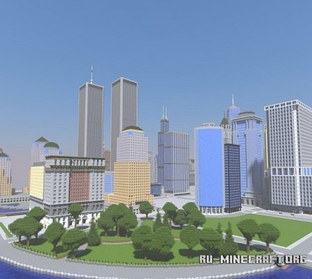 Скачать Empirepolis - Enormous American city для Minecraft