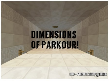 ������� Dimensions Of Parkour ��� Minecraft
