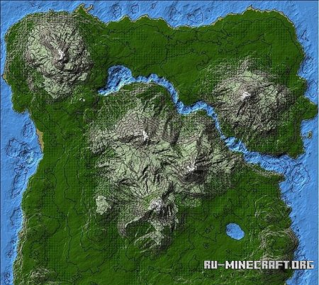 ������� Map series � Nordic  ��� Minecraft