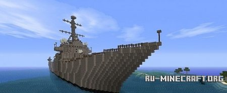 Скачать USS John Paul Jones DDG-53 для Minecraft