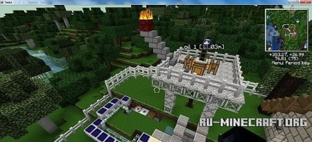 Скачать M.A.D industries inc. refinery compound для Minecraft