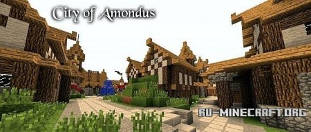 Скачать City of Amondus для Minecraft