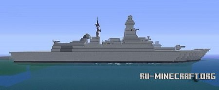 Скачать Royal Navy Type 45 Destroyer для minecraft