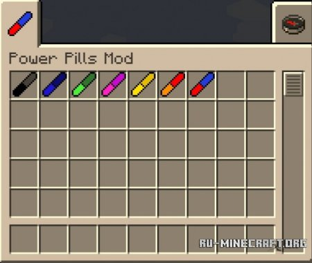 ������� Power Pills ��� Minecraft 1.8