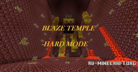 ������� The Blaze Temple Battle ��� Minecraft