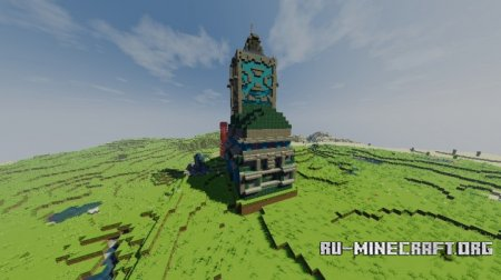 ������� Clock Tower Town ��� Minecraft