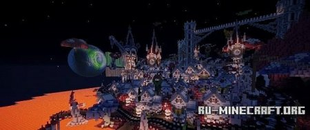 Скачать Glimmer in the Mist Nether Empire Entry для Minecraft