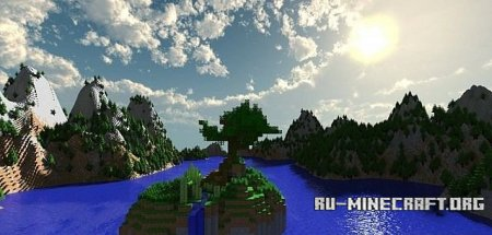 Скачать Meditation Island UPDATE Map для minecraft