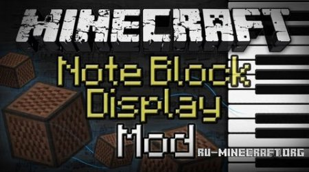 Скачать Note Block Display для Minecraft 1.8