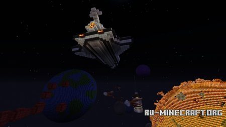 Скачать Planet Dranor A (Space Adventure) для Minecraft