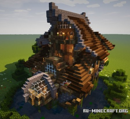 Скачать The Mini-Lake's house для Minecraft