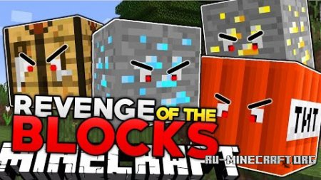 Скачать Revenge of the Blocks для Minecraft 1.7.10