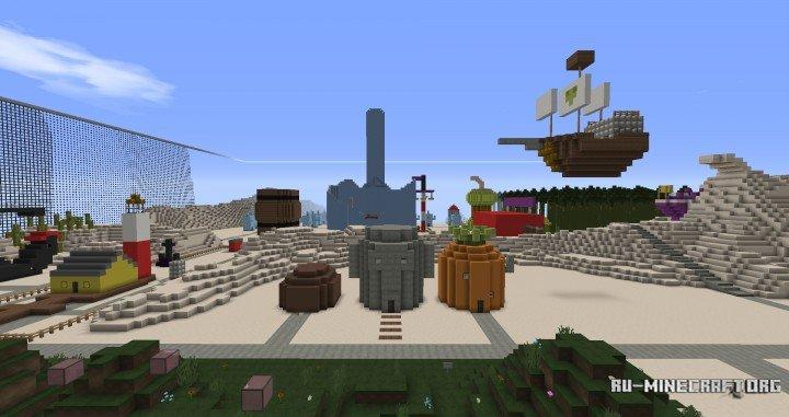 Сервера Майнкрафт на Версию 1.8 скачать