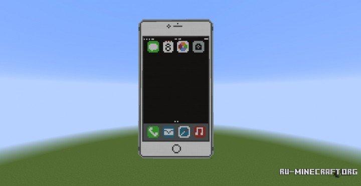 Карта] полностью рабочий iphone 6 для minecraft скачать карты.