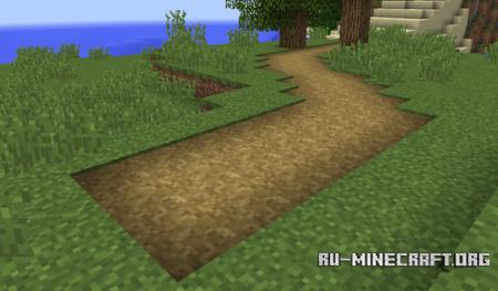 Травяные дорожки в Minecraft 1.9