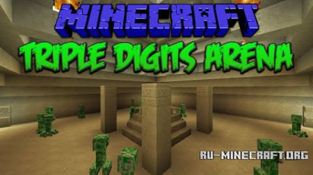 Скачать Triple Digits Arena для Minecraft