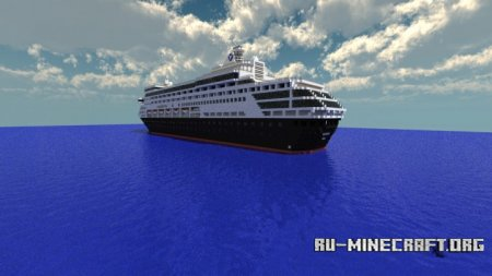 Скачать Maasdam Scale Cruise Ship для Minecraft