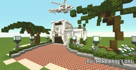 ������� Simple Cali Modern House - Ft Helicopter ��� Minecraft