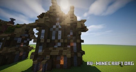 Скачать Naxxos Medieval Build pack для Minecraft