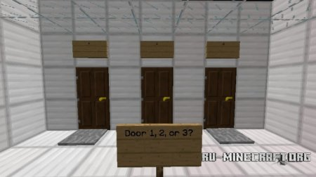 ������� What's Behind This Door? ��� Minecraft