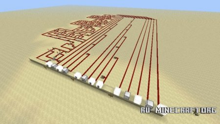 Скачать Full Adder with Red Power 2 для Minecraft