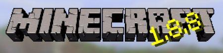 Лого Minecraft 1.8.8