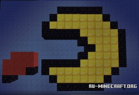 ������� Pixels: Pacman Chase ��� Minecraft