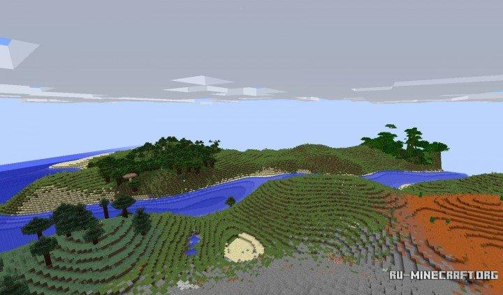 скачать карты для майнкрафт 1.7.10 на выживание на летающих островах #4