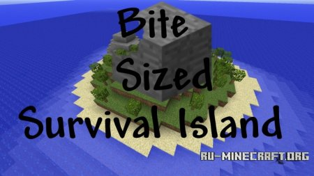 Скачать Bite-Sized Survival Island для Minecraft