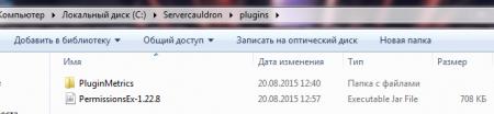 Папка plugins
