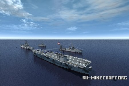 Скачать World War Two Ships для Minecraft