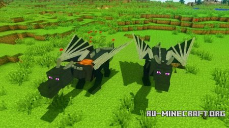Скачать Dragon Mounts для Minecraft 1.8