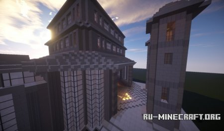 Скачать The Castle Of The Quartz Queen для Minecraft