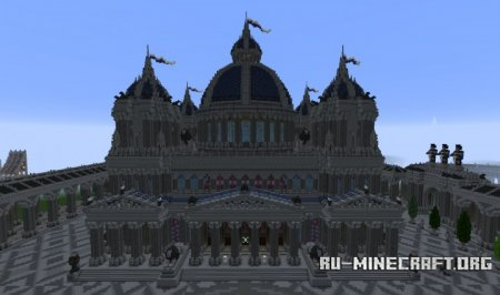 Скачать The Hypertholos, Roman Cathedral для Minecraft