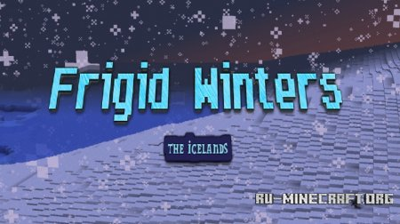 Скачать Frigid Winters- The Icelands для Minecraft