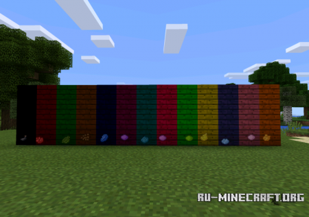 Скачать Colorable Planks для Minecraft PE 0.11.1