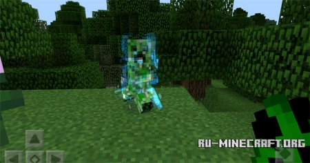 ������� Charged Creeper ��� Minecraft PE 0.12.1