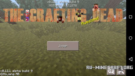 ������� The Walking Craft ��� Minecraft PE 0.12.1