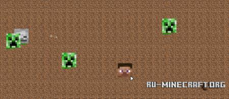 Игра Битва голов Minecraft