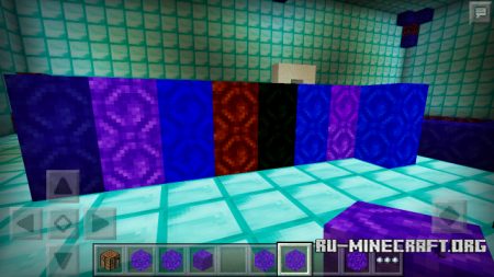 Скачать Color Portal Blocks для Minecraft PE 0.12.1