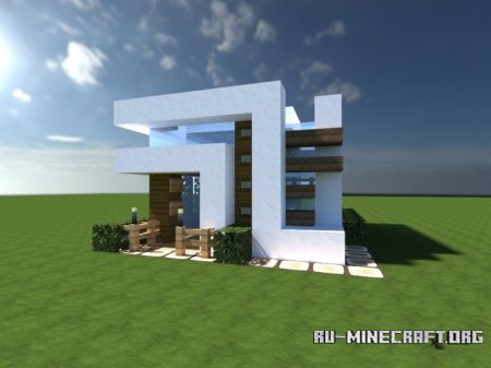 Скачать Enderh3art's Small Modern House для Minecraft