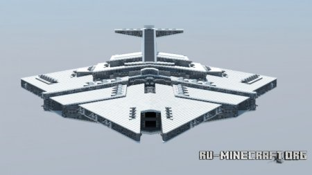 Скачать Sepzinak-class Assault Carrier для Minecraft
