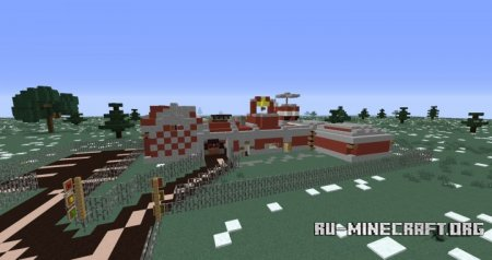 ������� Fire Station ��� Minecraft