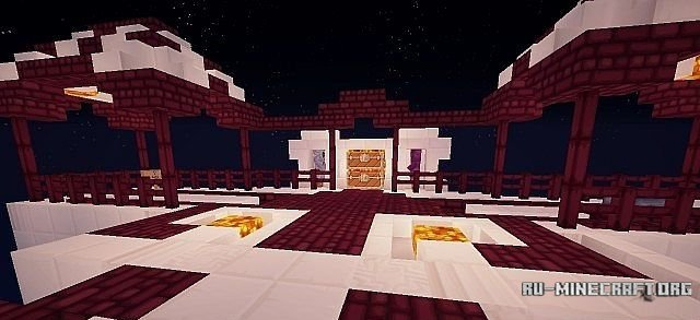 Скачать SkyIslands [Bedwars Map] для Minecraft