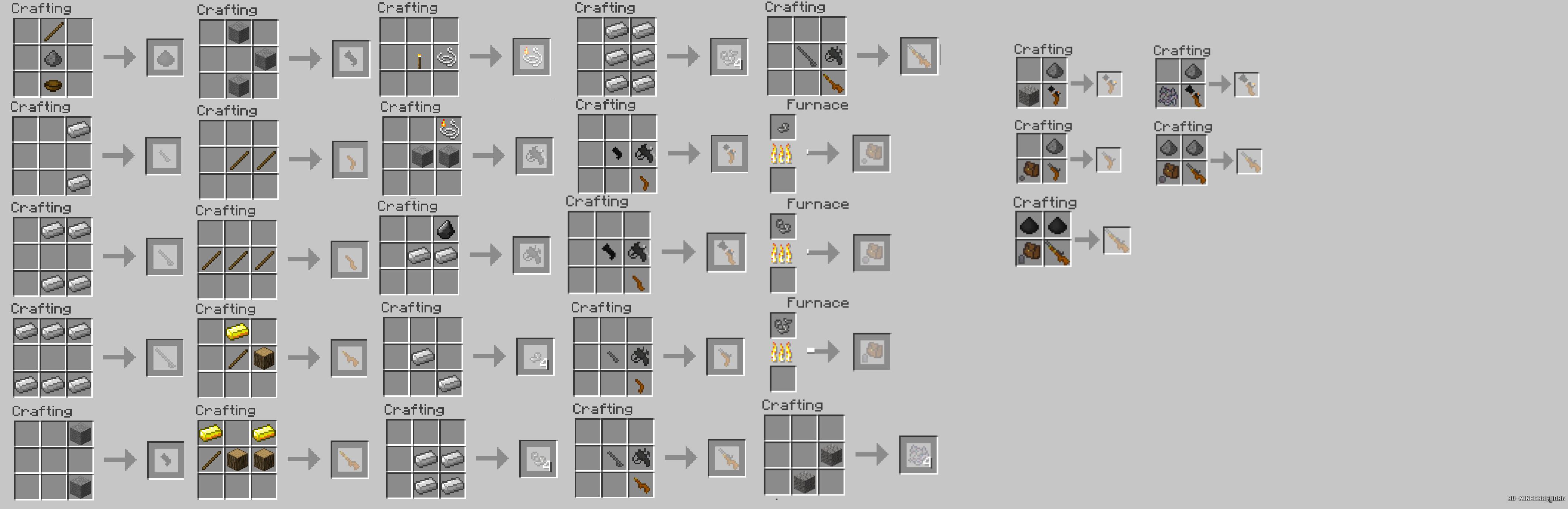 Мод stefinus 3d guns для майнкрафт 1. 7. 2.