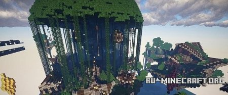 Скачать Dragnoz Competition Entry (Die in the Sky) Kingdom of Cothera  для Minecraft