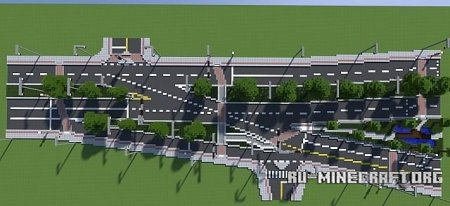 Скачать Strange Intersection in Gainesville, Florida  для Minecraft