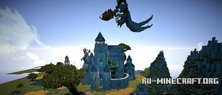 ������� A recollection of Anguish: Medieval Fantasy Castle  ��� Minecraft