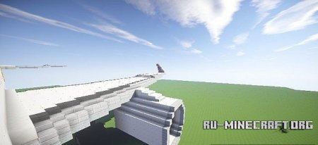 Скачать Airbus A320SL Cebu Pacific Airways для Minecraft