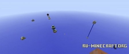 ������� skylands by godzila  ��� Minecraft